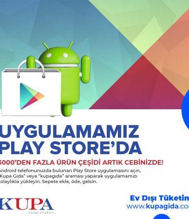 Play Store Uygulamamız